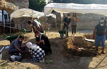 Sinop'ta Balatlar Yapı Topluluğu kazısında hayvan...