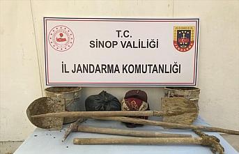 Sinop'ta uyuşturucu ve kaçak kazı operasyonu: 10...