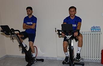 Trabzonspor'da oyuncuların sağlık kontrolleri sürüyor