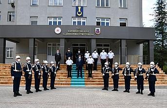 Vali Gürel'den İl Jandarma Komutanı Yılmaz'a ziyaret