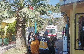 Zonguldak'ta boğulma tehlikesi geçiren kişi kurtarıldı