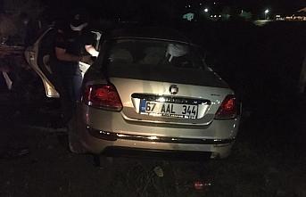 Zonguldak'ta meydana gelen trafik kazasında 2 kişi...
