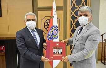 AA'dan Samsun Emniyet Müdürü Ömer Urhal'a ziyaret