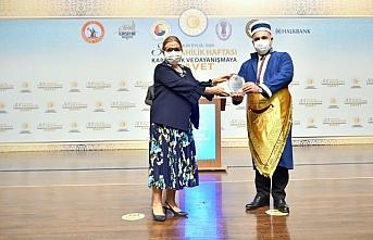 Ahilik Hizmet Ödülü bu yıl Halkbank Genel Müdürü Osman Arslan'a verildi