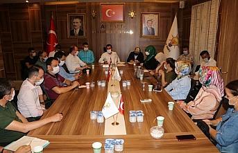 AK Parti İlkadım İlçe Başkanı Erbin, birim başkanlarını...