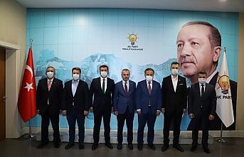 AK Parti Karabük Merkez İlçe Başkanlığı adayı...