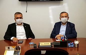 AK Parti Tokat Milletvekili Yusuf Beyazıt TSO'yu ziyaret etti