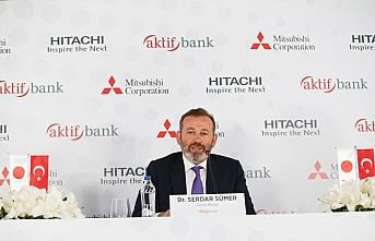 Aktif Bank'tan Hitachi ve Mitsubishi Corporation ile iş birliği