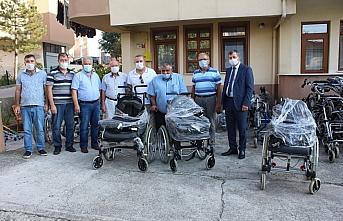 Almanya'da yaşayan Bartınlılardan engelli bireylere yardım