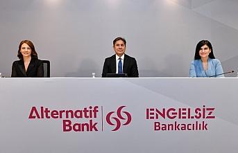 Alternatif Bank'tan engelsiz bankacılığın örnek...