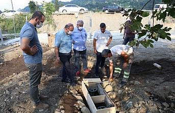 Arhavi'de Nero Hayvan Bakımevi inşaatı devam ediyor