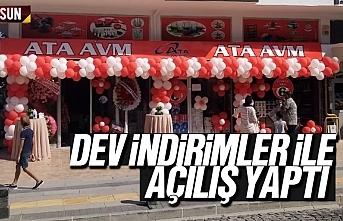 ATA AVM, Samsun Atakum'da açıldı