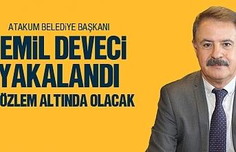 Atakum Belediye Başkanı Cemil Deveci'de yakalandı