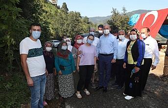 Bakan Soylu selde hayatını kaybeden Özdemir'in...