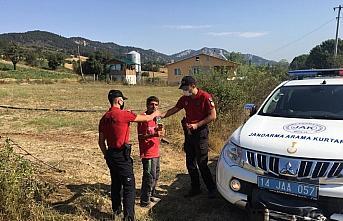 Bolu'da kaybolan engelli genci jandarma ekipleri buldu