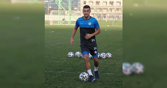 Çaykur Rizesporlu futbolcu Emir Dilaver: