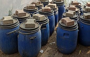 Çorum'da 1740 litre sahte içki ele geçirildi