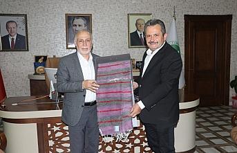 Darülaceze Başkanı Cebeci Düzce'de ziyaretler...