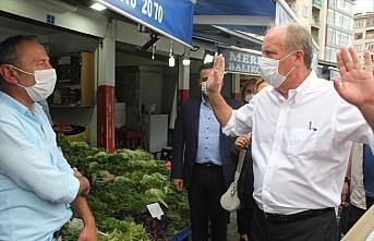 Eski CHP Milletvekili Muharrem İnce, Giresun'u ziyaret...