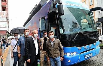 Eski CHP Milletvekili Muharrem İnce, Rize'yi ziyaret etti