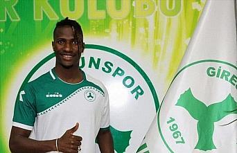 Giresunspor, İbrahima Balde ile iki yıllık sözleşme...