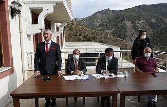 Gümüşhanespor'da kulüp başkanlığına Vahit Olgun seçildi