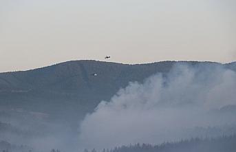GÜNCELLEME - Kastamonu'daki orman yangınınına...