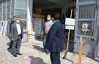 Havza'da Kovid-19 denetimi yapıldı