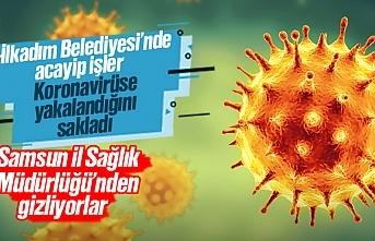 İlkadım Belediyesi şantiyesinde koronavirüs paniği