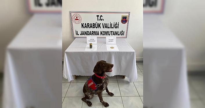 Karabük'te uyuşturucu operasyonunda bir şüpheli tutuklandı