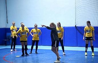Kastamonu Belediyespor'da lig ve EHF Kupası hazırlıkları sürüyor