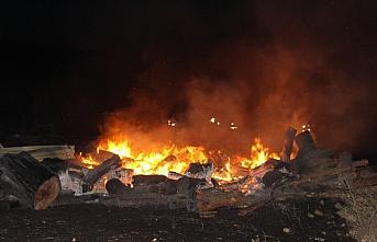 Kastamonu'da 6 yayla evi yandı