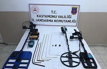 Kastamonu'da izinsiz kazı yapan 6 kişi gözaltına...
