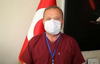 Kastamonu'da Kovid-19'a yakalanan 95 sağlık çalışanı iyileşti