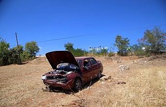 Kastamonu'da tarlaya devrilen otomobildeki 5 kişi yaralandı