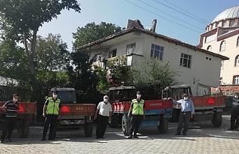 Kavak'ta jandarmadan traktör sürücülerine eğitim
