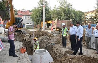 Kumluca beldesi atıksu arıtma tesisi inşaatı