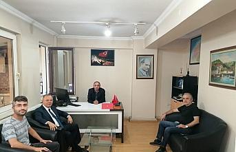 MHP MYK Üyesi Murat Kotra'dan AA'ya ziyaret