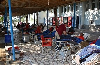 Safranbolu'da 912 Mehmetçik kan bağışı yaptı
