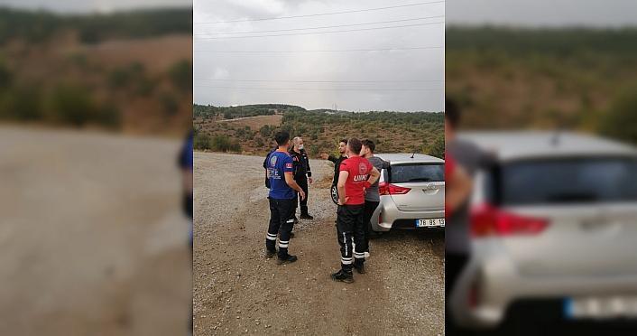Safranbolu'da ormanlık alanda kaybolan kadın bulundu