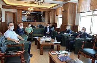 Samsun Üniversitesi Rektörü Prof. Dr. Mahmut Aydın'a...