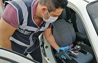 Samsun'da asayiş denetimlerinde aranan 4 kişi yakalandı