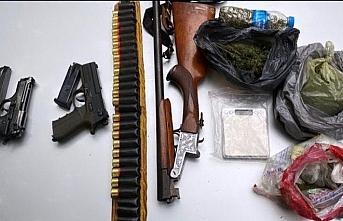 Samsun'da ikametinde uyuşturucu bulunan şüpheli tutuklandı