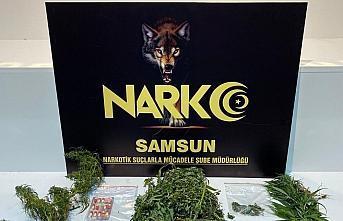 Samsun'da narkotik polisinden uygulama: 7 gözaltı
