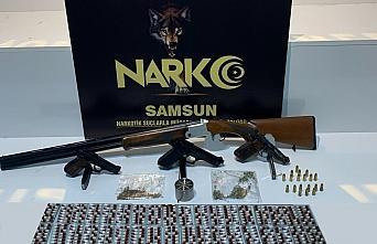 Samsun'da uyuşturucu operasyonunda 11 şüpheli yakalandı