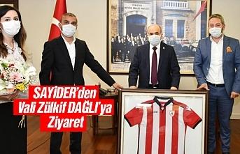 SAYİDER'den Samsun Valisi Dr. Zülkif DAĞLI'ya...