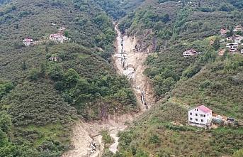 Sel felaketinde zarar gören Doğankent'te hayat normale...