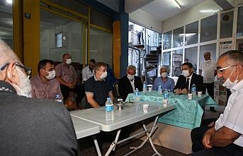 Tokat Belediye Başkanı Eroğlu esnaflarla bir araya geldi