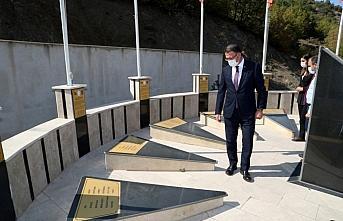 Tokat Valisi Balcı, Sazak Şehitler Anıtı'nı ziyaret...