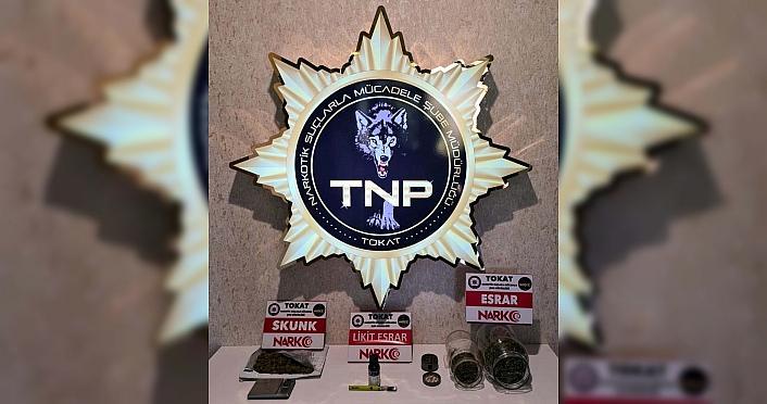 Tokat'ta uyuşturucu operasyonunda 1 kişi yakalandı